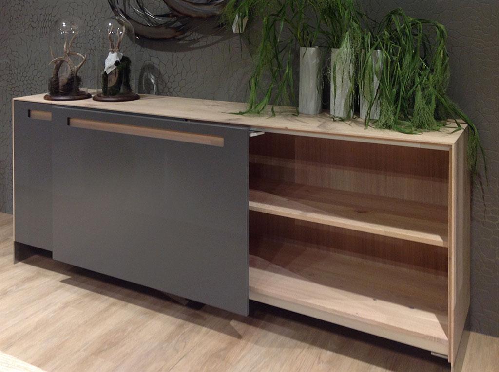Highboard mit schiebetüren  KATANA Sideboard KT236 | Pönnighaus Möbelmanufaktur :: Massivholz ...