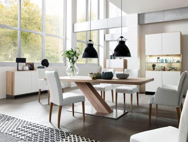 Esstisch BALANZ mit KATANA Wohnraummöbeln