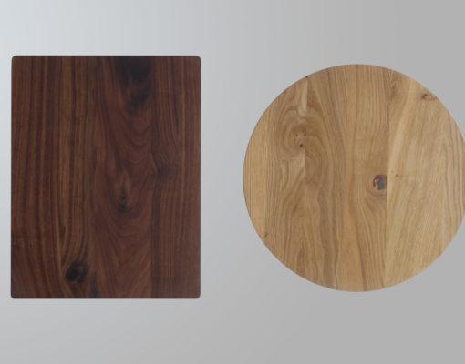 Beisteller SPIN Platte rechteckig/rund